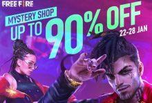 Free Fire: Mystery Shop 7.0 ya está en vivo el juego